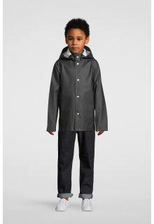 Stutterheim---Regenjas-voor-kinderen---Mini-Stockholm---Zwart