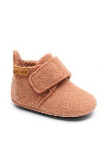 Bisgaard---Pantoffels-voor-baby's---Baby-wool---Roze