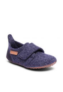 Bisgaard---Pantoffels-voor-baby's---Casual-wool---Blauw