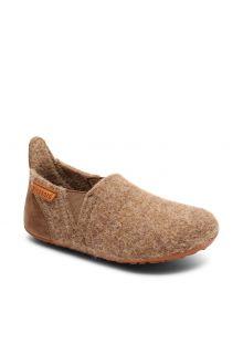 Bisgaard---Pantoffels-voor-baby's---Sailor-wool---Geel