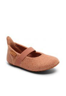Bisgaard---Pantoffels-voor-baby's---Basic-wool---Roos