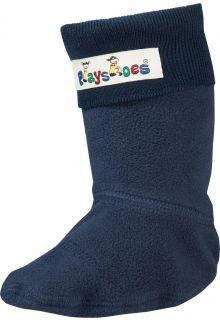 Playshoes---Fleecesokken-voor-regenlaarsjes---Donkerblauw