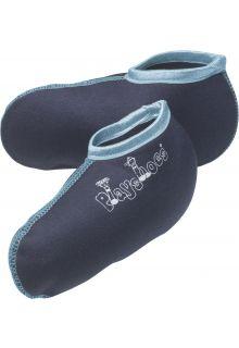Playshoes---Korte-fleecesokken-voor-regenlaarsjes---Donkerblauw