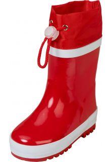 Playshoes---Regenlaarsjes-met-trekkoord---Rood