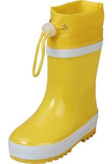 Playshoes---Regenlaarsjes-met-trekkoord---Geel