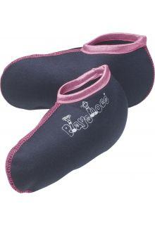 Playshoes---Korte-fleecesokken-voor-regenlaarsjes---Roze