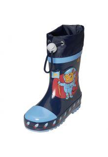 Playshoes---Regenlaarzen-voor-kinderen---Ruimte-muis---Marineblauw