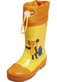 Playshoes---Regenlaarsje-Muis-&-Olifant---Geel