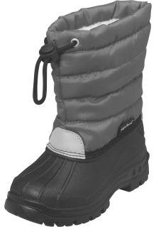 Playshoes---Winterlaarsjes-met-trekkoord---Grijs