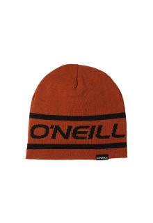 O'Neill---Omkeerbare-beanie-met-logo-voor-heren---Rooibos-Rood