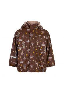 CeLaVi---Regenjas-met-fleece-voor-kinderen---Herfst---Rocky-road