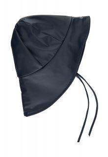 CeLaVi---Regenhoed-met-fleece-voor-kinderen---Solid---Donkerblauw