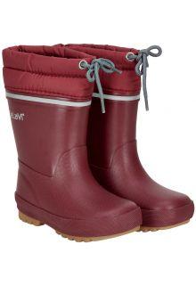CeLaVi---Snowboots-met-fleecevoering-voor-kinderen---Thermisch---Donkerrood