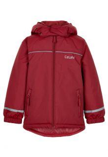 CeLaVi---Ski-jas-voor-kinderen---Solid---Donkerrood