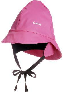 Playshoes---Regenkapje-met-fleece---Roze