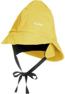 Playshoes---Regenkapje-met-fleece---Geel