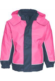 Playshoes---3-in-1-regenjas-tweekleurig---Donkerblauw/Roze