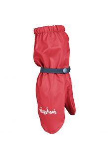 Playshoes---Regenwanten-met-fleece-voering-voor-kinderen---Rood
