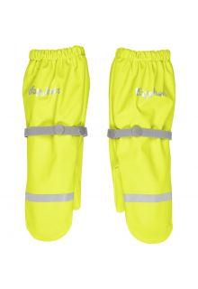 Playshoes---Regenwanten-met-fleece-voering-voor-kinderen---Neon-Geel