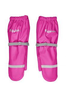 Playshoes---Regenwanten-met-fleece-voering-voor-kinderen---Neon-Roze