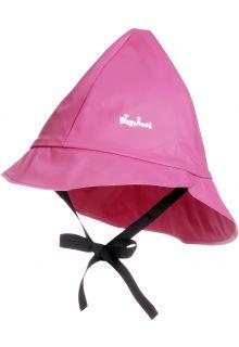 Playshoes---Regenkapje-met-koordje---Roze