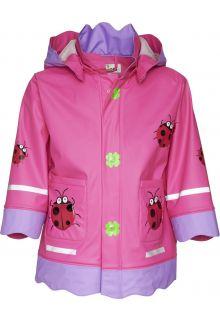 Playshoes---Regenjas-Lieveheersbeestje---Roze