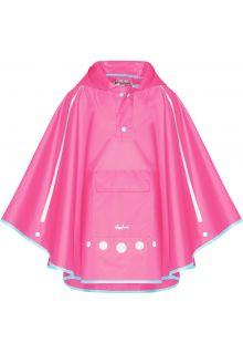 Playshoes---Regenponcho-voor-kinderen---Opvouwbaar---Roze