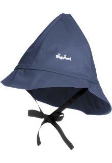 Playshoes---Regenkapje-met-koordje---Donkerblauw