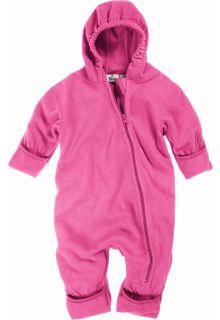 Playshoes---Fleece-babypakje-met-capuchon---Roze
