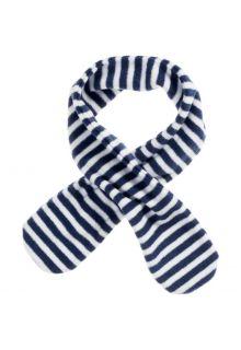 Playshoes---Fleece-sjaal-voor-kinderen---Onesize---Marineblauw/Wit
