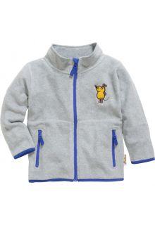 Playshoes---Fleece-jas-voor-kinderen---Muis---Grijs/melange