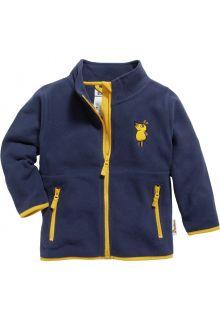 Playshoes---Fleece-jas-voor-kinderen---Muis---Marineblauw
