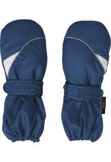Playshoes---Winter-wanten-met-klitteband---Donkerblauw