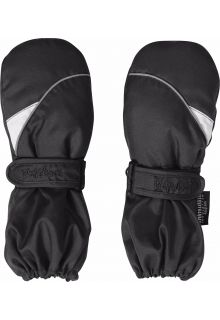 Playshoes---Winter-wanten-met-klitteband---Zwart