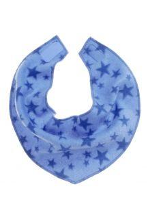 Playshoes---Fleece-driehoek-sjaal-voor-kinderen---Onesize---Sterren---Blauw
