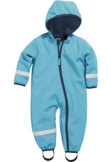 Playshoes---Softshell-Overall-voor-baby's-en-peuters---Aquablauw