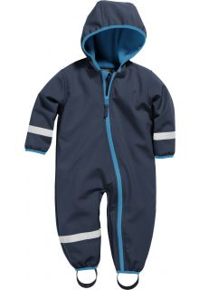 Playshoes---Softshell-Overall-voor-baby's-en-peuters---Donkerblauw