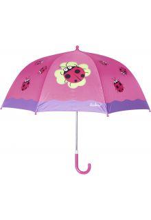 Playshoes---Kinder-paraplu-met-Lieveheersbeestje---Roze