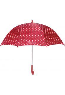 Playshoes---Kinder-paraplu-met-stippen---Rood