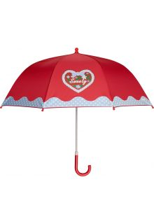 Playshoes---Kinder-paraplu-met-Hart-&-stippen---Rood