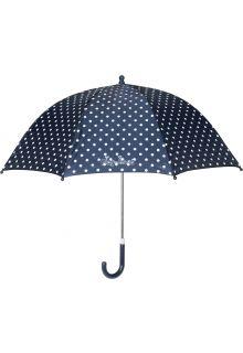 Playshoes---Kinder-paraplu-met-stippen---Donkerblauw