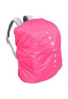 Playshoes---Regenhoes-voor-rugzak---Roze