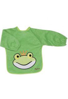 Playshoes---Slabbetje-met-mouwen-met-lang-sleeves-voor-kinderen---Onesize---Groen