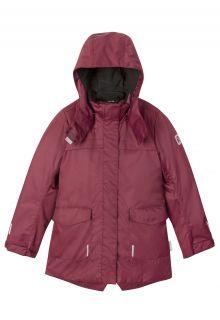 Reima---Winterjas-voor-meisjes---Pikkuserkku---Jam-rood
