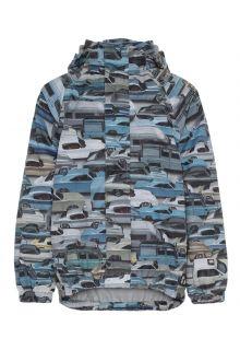 MOLO---Regenjas-voor-jongens---Waiton-Cars---Blauw/Multi