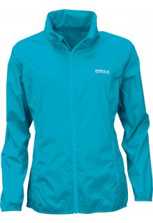 Pro-X-Elements---Opbergbare-regenjas-voor-dames---LADY-PACKable---Neon-turquoise
