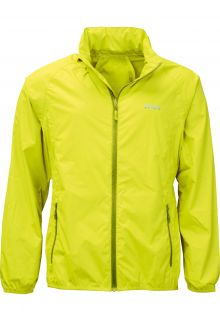 Pro-X-Elements---Opbergbare-regenjas-voor-heren---PACKable---Neon-geel
