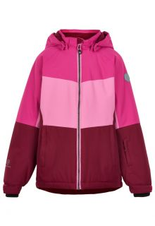 Color-Kids---Ski-jas-voor-meisjes---Colorblock---Fuchsia-Roze