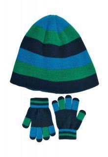 Color-Kids---Beanie-en-handschoenen-set-voor-jongens---Lichtblauw