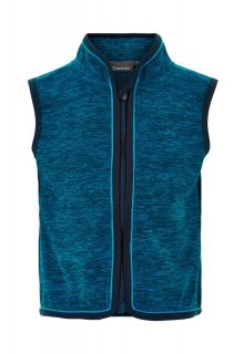 Color-Kids---Fleece-gilet-voor-baby's---Melange---Donkerblauw